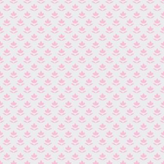 Kleine bloem geometrische patroon print
