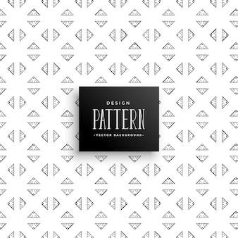 Kleine driehoek geometrische patroon achtergrond