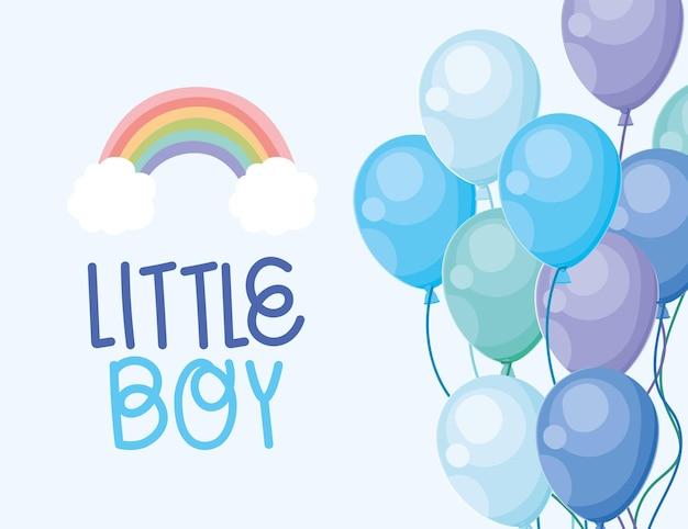Kleine jongen poster