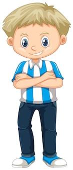 Kleine jongen uit argentinië