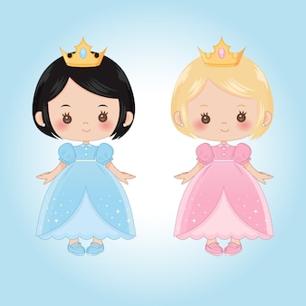 Kleine kindprinsessen