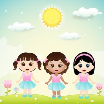 Kleine meisjes