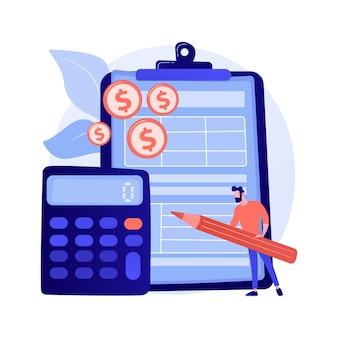 Klembord met officieel doc. extra geld beheren. bord met papier. financiering planer. gele muntstapel, geldstapel, bonusfonds. voordelen en welvaart. vector geïsoleerde concept metafoor illustratie.