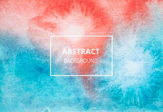 Kleur abstracte aquarel textuur achtergrond