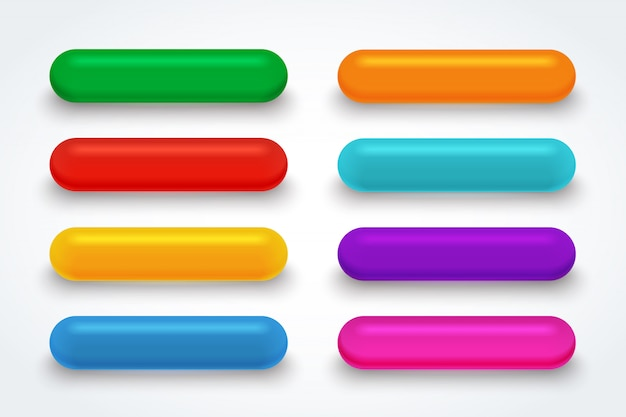 Kleur glas downloadknop.
