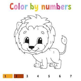 Kleur op nummer.