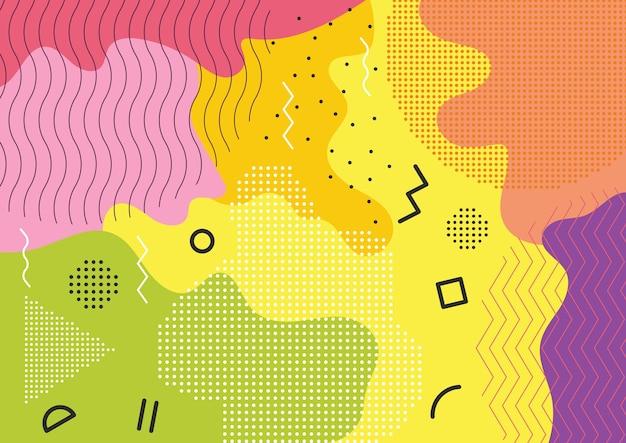 Kleur splash abstracte achtergrond