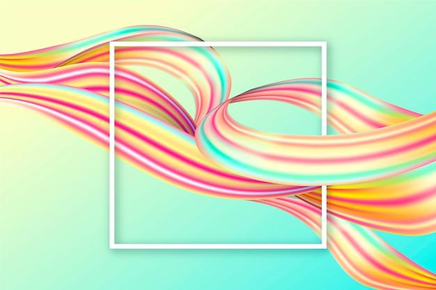 Kleur stroom achtergrond