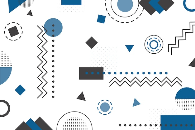 Kleur van de pantone geometrische achtergrond van het jaar 2020