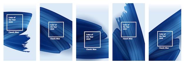 Kleur van het jaar 2020 cover set