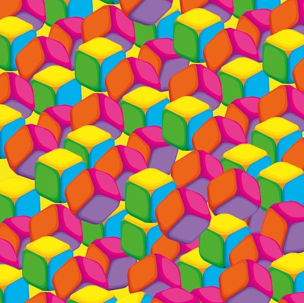 Kleuren en stijlen patronen achtergronden