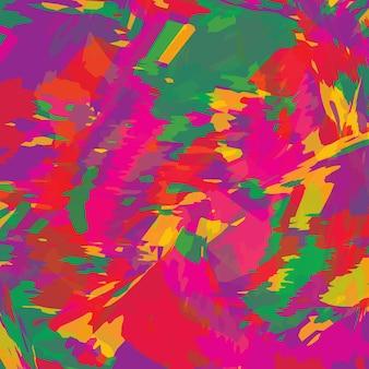 Kleuren explosie. kleurrijke textuur van verf penseelstreek. geschilderd aquarelpatroon.