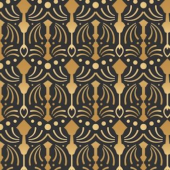 Kleurovergang art deco patroon ontwerp