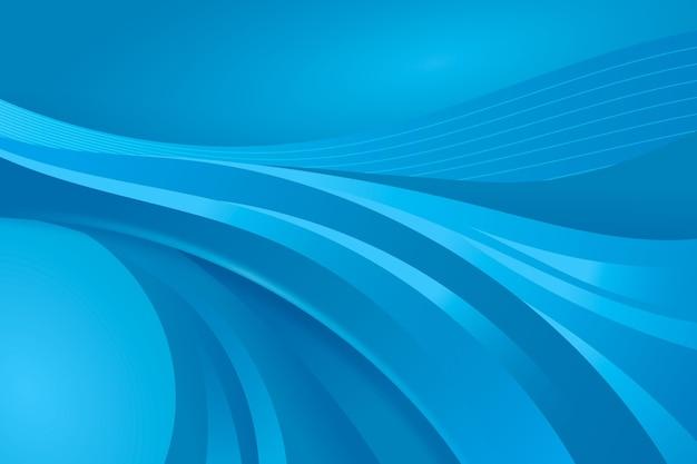 Kleurovergang blauwe gladde achtergrond Premium Vector