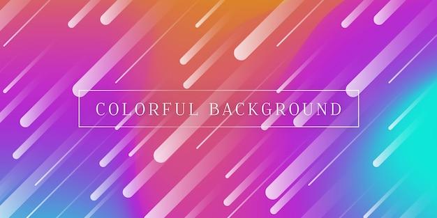 Kleurovergang kleurrijke achtergrond