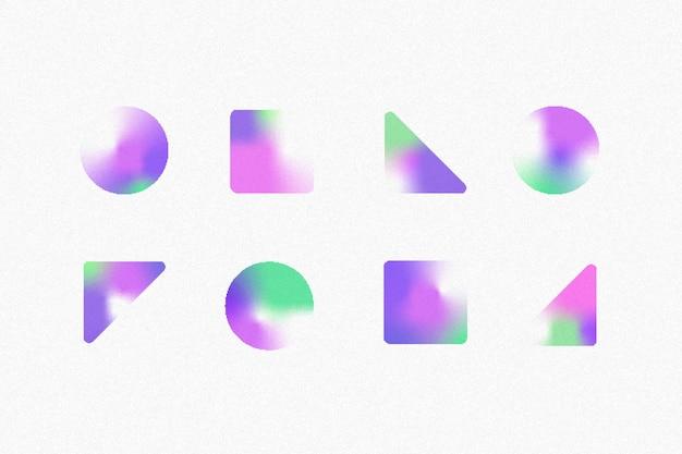 Kleurovergang korrelige verloopvormen