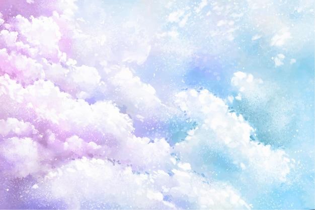 Kleurovergang pastel hemelachtergrond