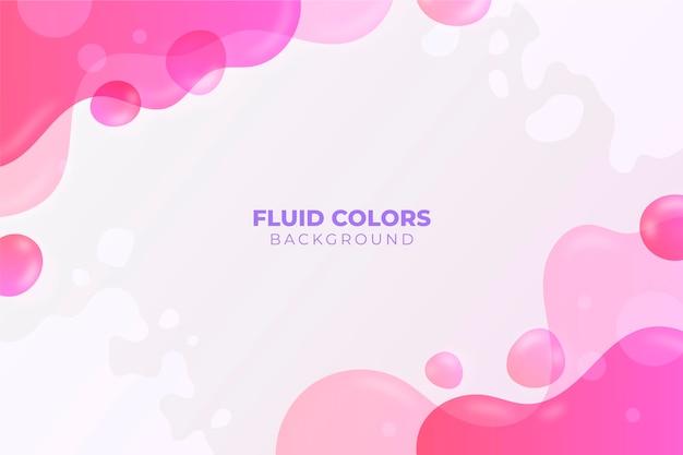 Kleurovergang vloeibare abstracte achtergrond