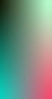 Kleurovergang wazig blauw groen fuchsia mint zwart gradiënt behang achtergrond vectorillustratie