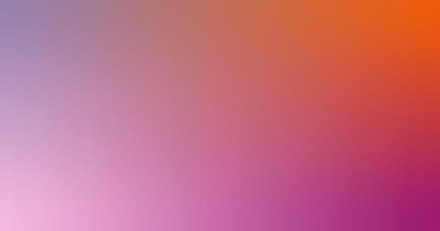 Kleurovergang wazig lila rood oranje hete roze roze gradiënt behang achtergrond vectorillustratie