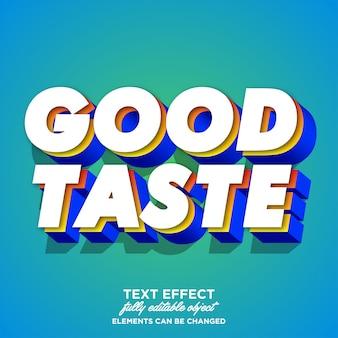 Kleurrijk 3d-lettertype-effect