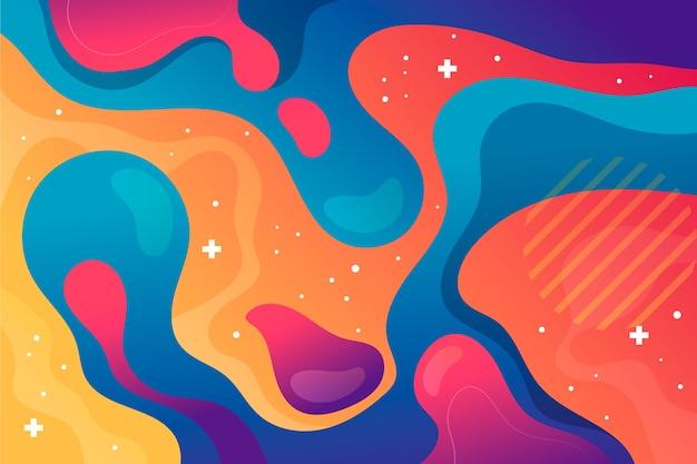 Kleurrijk abstract concept als achtergrond
