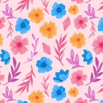 Kleurrijk bloemenpatroon
