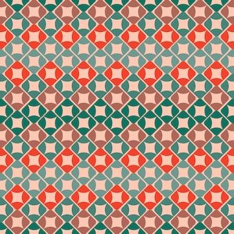 Kleurrijk geometrisch patroon