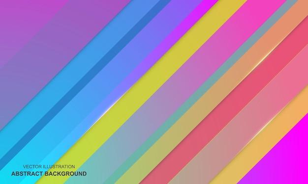 Kleurrijk gradiënten modern abstract ontwerp als achtergrond