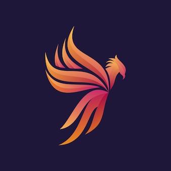 Kleurrijk griffine-logo