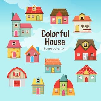 Kleurrijk huis
