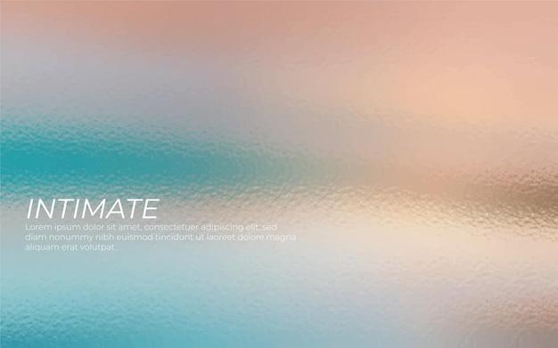 Kleurrijk iriserend glas als achtergrond