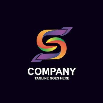 Kleurrijk letter s-logo-ontwerp