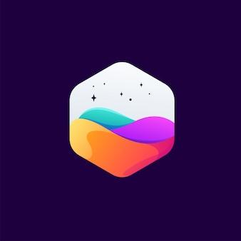 Kleurrijk logo ontwerpontwerp