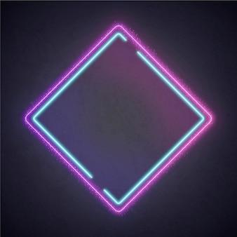 Kleurrijk neon montuurontwerp