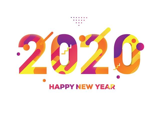Kleurrijk nieuwjaar 2020