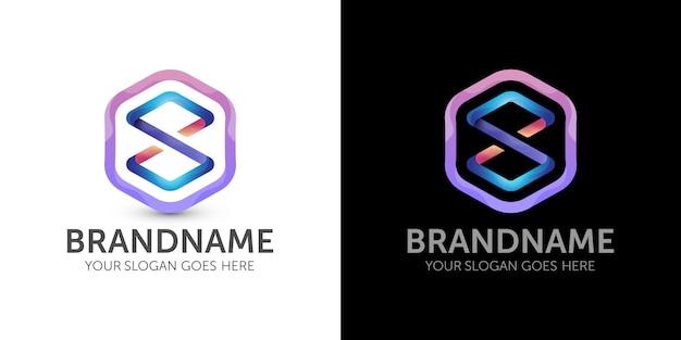 Kleurrijk oneindig logo