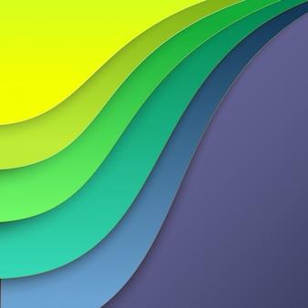 Kleurrijk papier voor achtergrond