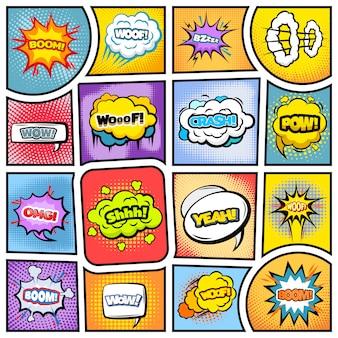 Kleurrijk stripboek