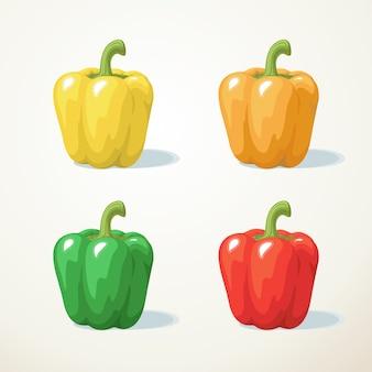 Kleurrijk van paprika