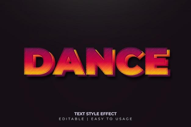 Kleurrijk vetgedrukt tekststijleffect met papierknipstijl