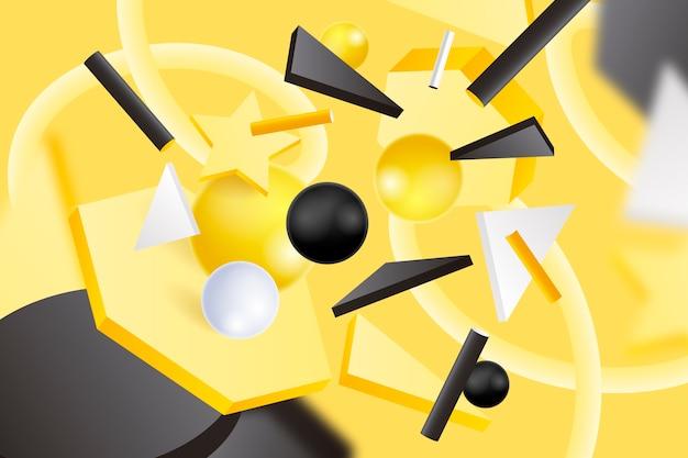 Kleurrijke 3d-achtergrond