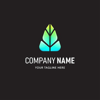Kleurrijke absract logo design illustration