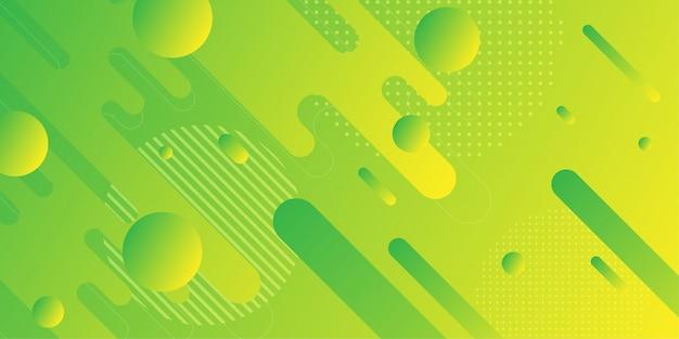 Kleurrijke abstracte achtergrond met minimale geometrie