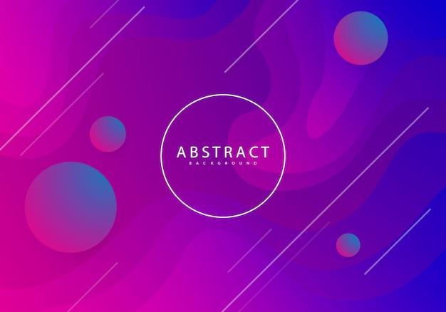 Kleurrijke abstracte achtergrond, modern design