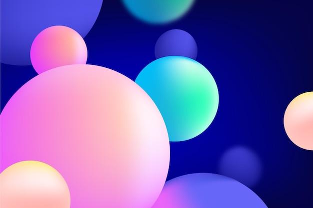 Kleurrijke abstracte achtergrond Gratis Vector