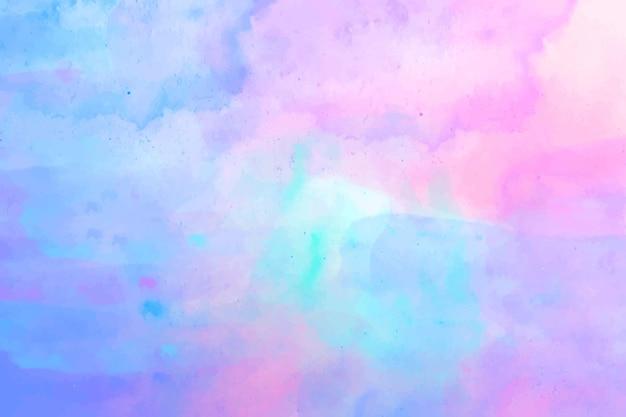 Kleurrijke abstracte aquarel achtergrond Gratis Vector