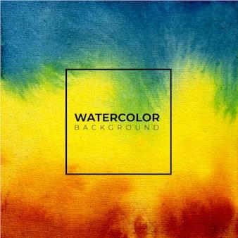 Kleurrijke abstracte aquarel textuur achtergrond