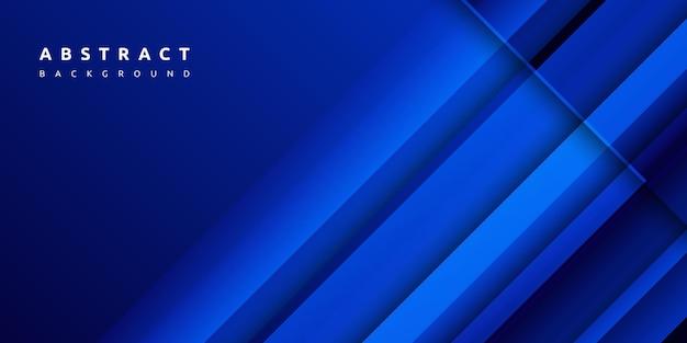 Kleurrijke abstracte blauwe achtergrond