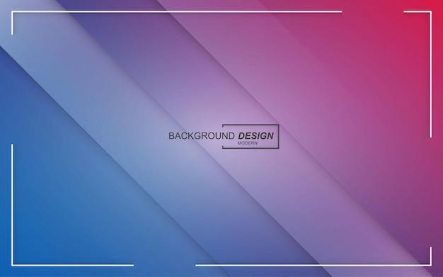 Kleurrijke abstracte geometrische achtergrond met kleurovergang